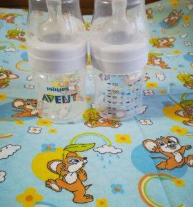 Бутылочки фирмы Авент 125 мл