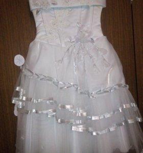 праздничное платье безразмерное от 130см роста