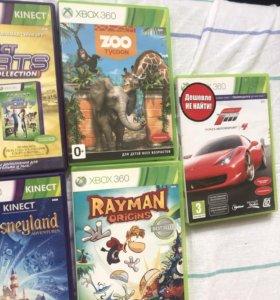 Диски кинект Xbox 360
