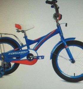 Велосипед новый Forward Rocky 18 boy 2016
