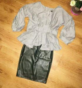 Новые юбка /блузка