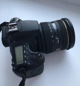 Canon 60d + Sigma 24-70 2.8 F
