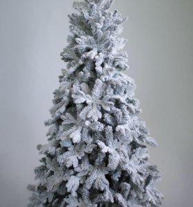 Елки искусственные со снегом премиум качества