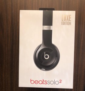 Beats solo 2 luxe edition оригинальные
