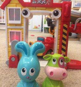 Интерактивная игрушка «Пожарная станция»