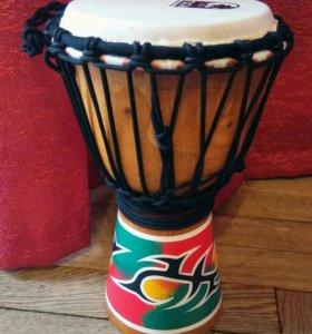 Toca барабан Джембе (изготовлен в Индонезии)