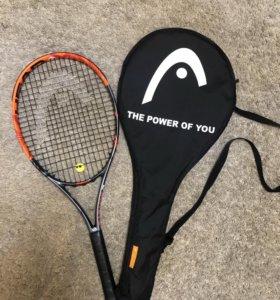 Новая ракета для большого тенниса HEAD