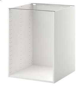 ИКЕА метод каркас напольного шкафа белый