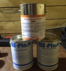 Краска и грунт WS plast