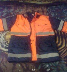 Спецодежда рабочая куртка и комбинезон