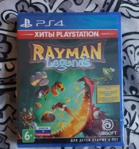 Игра для PS4 Rayman Legends