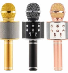 Микрофон караоке новый