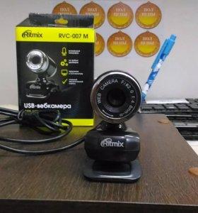 Новая Web-камера ritmix RVC-007