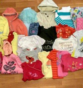 Пакет одежды для девочки 86-92