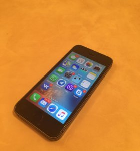 iPhone 5S space gray, 16 gb