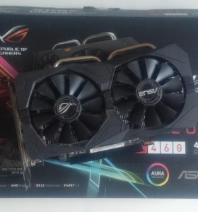 Radeon RX460 asus strix 04G Gaming 4Gb(OC edition)