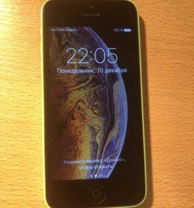 iPhone 5C 32 Gb зелёный