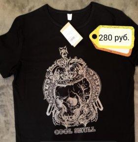 Новая мужская футболка 44 размер