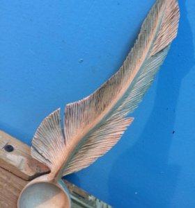 Декоративная ложка ручной работы