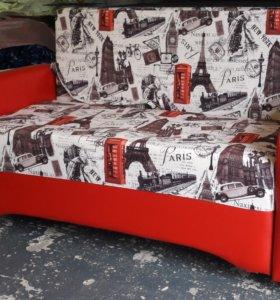диван чебурашка красная Париж
