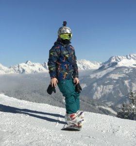 Костюм горнолыжный для мальчика 11-12 лет