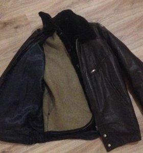 Куртка лётная кожаная
