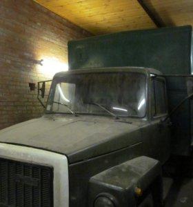 ГАЗ-3307, изотермический фургон.