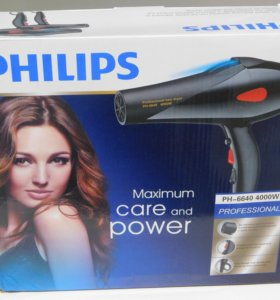 Профессиональный фен Philips PH-6640 4000 Ватт