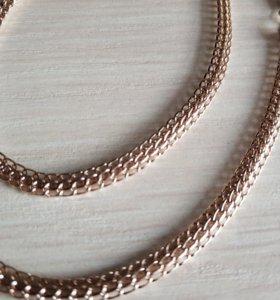 Новая золотая цепь Итальяно 585 пробы