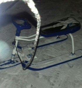 Санки снегокат