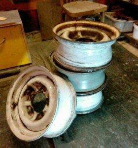 Диски колесные для ГАЗ-24