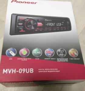 Магнитола Pioneer MVH-S100UB USB AUX FLAC