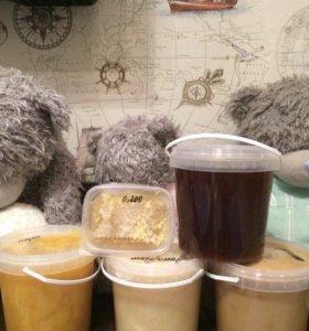 Мёд,Соты