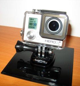 Новая экшн-камера GoPro Hero3+, полный комплект