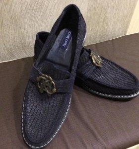 Новые туфли ручной работы