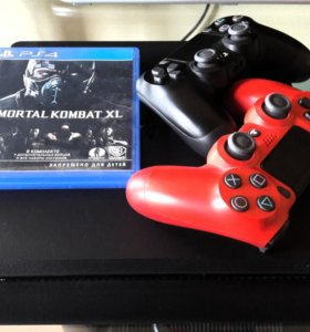 Продам Sony PS 4 Slim 500 гб + Mortal Kombat XL