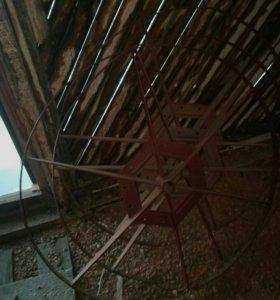 Колёса для солнечных граблей