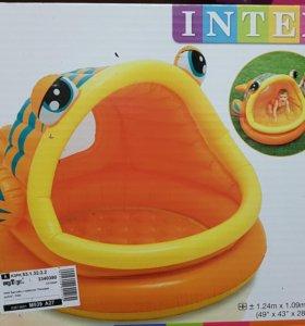 """Детский бассейн""""Ленивая рыбка"""" Intex"""