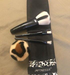 Дорожный набор кистей для макияжа Japonesque