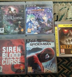 PS3 игры (RARE)