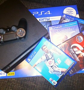 Sony PlayStation 4 Plus, 500GB GTS