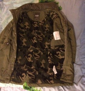 Куртка зимняя ( парка ) pull & bear