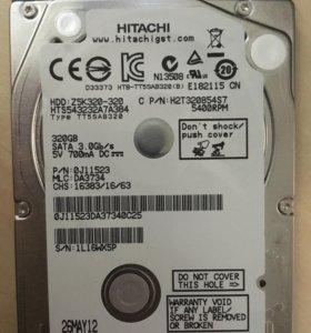 Жесткий диск для ультробука Hitachi Z5K320, 320 Гб