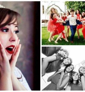 Фото и видео свадьбы, мероприятия студия, промо