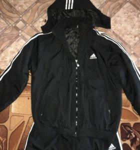 Утеплённый Спортивный костюм 48-50