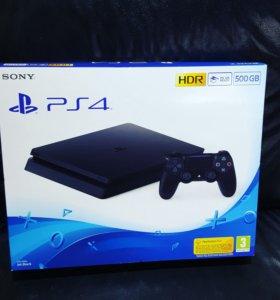 Sony PlayStation 4 Slim 500GB PS4. Новая