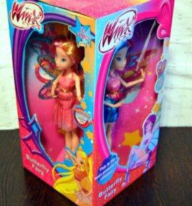 4 куклы Винкс