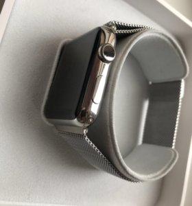 apple watch stainless steel 42mm (сталь)