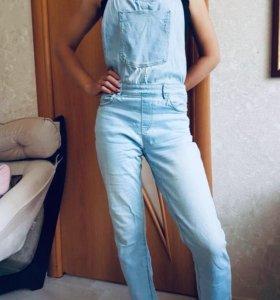 Комбенизон джинс( можно для беременных и просто )