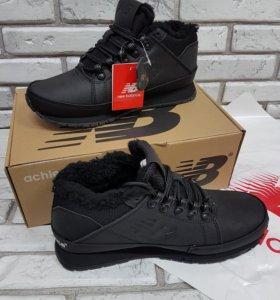Новые зимнии ботинки